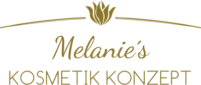 Melanie's Kosmetik Konzept Logo